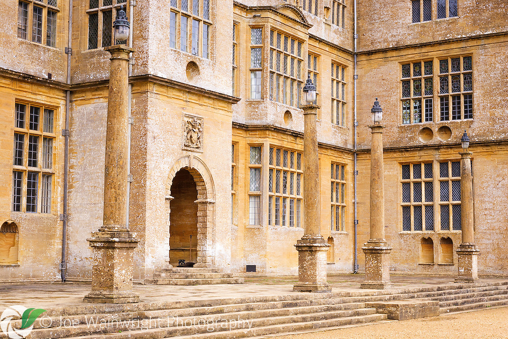 The English Renaissance style Montacute House, in Somerset, was built in 1598.