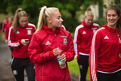 CARDIFF, WALES - Friday, August 19, 2016: Wales' Charlie Estcourt during a pre-match walk at the Vale Resort ahead of the international friendly match against Republic of Ireland. (Pic by Laura Malkin/Propaganda)
