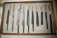 The process of a hand made knife by Yoshikazu Ikeda Forged Knife Master Craftsman, Sakai, Osaka Prefecture, Japan