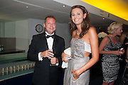 MATTHEW FREUD; OLIVIA COLE, 2012 GQ Men of the Year Awards,  Royal Opera House. Covent Garden, London.  3 September 2012