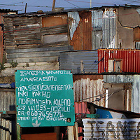 Khayalitscha Township, Cape Town, South Africa