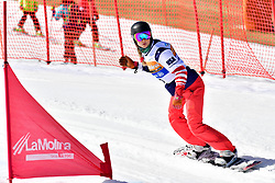 HUCKABY Brenna, SB-LL1, USA, Snowboard Cross at the WPSB_2019 Para Snowboard World Cup, La Molina, Spain