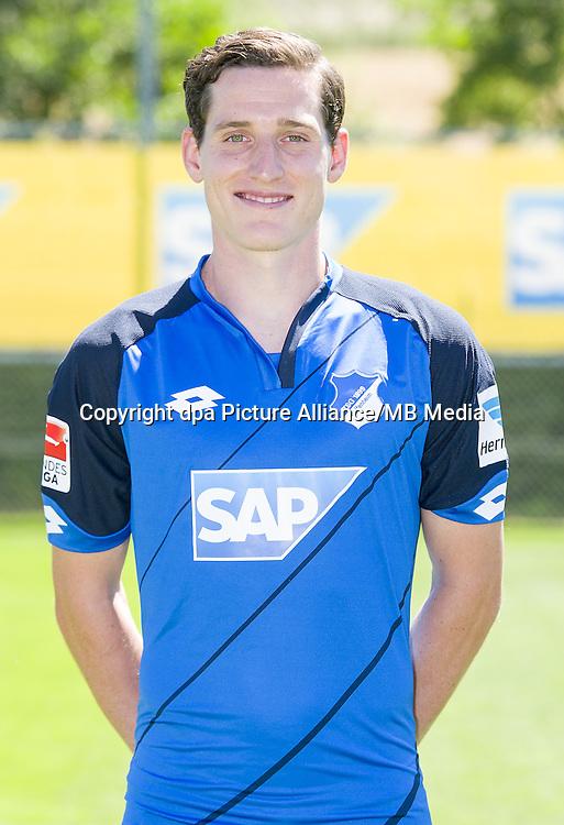 German Bundesliga - Season 2016/17 - Photocall 1899 Hoffenheim on 19 July 2016 in Zuzenhausen, Germany: Sebastian Rudy. Photo: APF  | usage worldwide
