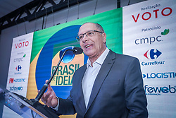 Brasil de Ideias com Geraldo Alckmin. FOTO: Jefferson Bernardes/ Agência Preview