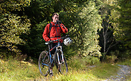 Cycling in Balblair, Sutherland, Forestry Commission Scotland
