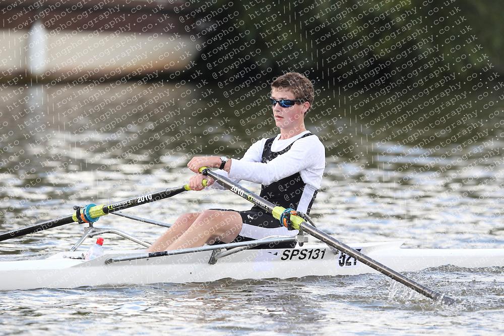 2012.09.29 Wallingford Long Distance Sculls 2012. Division 3. J16A 1x. St Pauls School Boat Club.