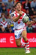 Ben Hunt. Auckland Warriors v St George Dragons. NRL Rugby League.Magic Round 2019 Suncorp Stadium, Brisbane, New Zealand. May 11, 2019. © Copyright photo: Patrick Hamilton / www.photosport.nz