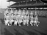 23/10/1960<br /> 10/23/1960<br /> 23 October 1960<br /> Oireachtas Final: Cork v Tipperary at Croke Park, Dublin.<br /> Cork team.