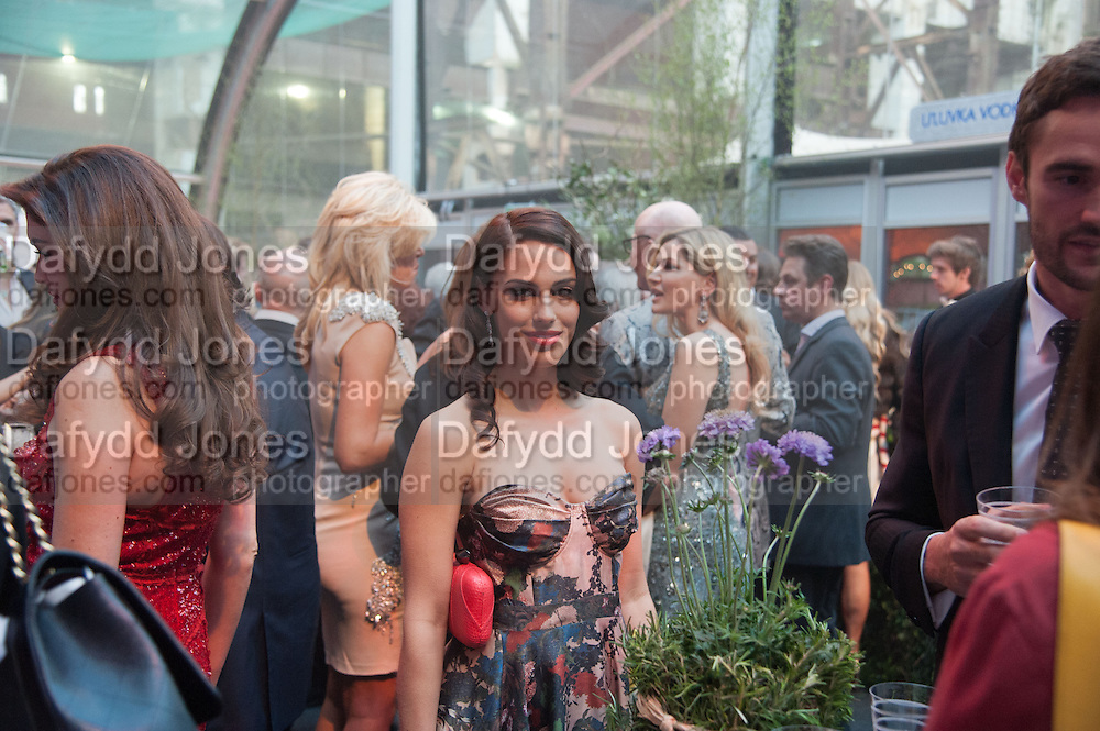 JESSICA LOWNDES, Gabrielle's Gala 2013 in aid of  Gabrielle's Angels Foundation UK , Battersea Power station. London. 2 May 2013.