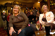 Visitors enjoy the entertainment and a drink in the Alton Towers Hotel Bar, Alton Towers, UK..Photo©Steve Forrest/Workers' Photos