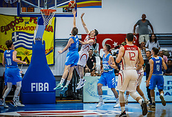 Erdek Atakan of Turkey  during basketball match between National teams of Turkey and Slovenia in the SemiFinal of FIBA U18 European Championship 2019, on August 3, 2019 in Nea Ionia Hall, Volos, Greece. Photo by Vid Ponikvar / Sportida