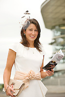 Caroline Conway from Castleconnell at the Friday evening Meeting of the Galway Races. Photo:Andrew Downes