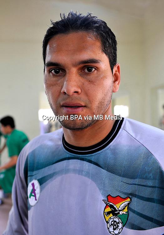 Conmebol_Concacaf - Copa America Centenario 2016 - <br /> Bolivia National Team - <br /> Daniel Vaca