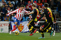 13.01.2013 SPAIN -  La Liga 12/13 Matchday 19th  match played between Atletico de Madrid vs Real Zaragoza (2-0) at Vicente Calderon stadium. The picture show Jorge Resurreccion Koke (Spanish midfielder of At. Madrid)