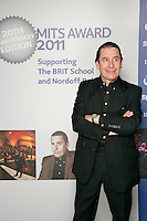 Jools Holland, the 2011 MITs Award. Held at the Grosvenor Hotel London in aid of Nordoff Robbins and the BRIT School. Monday, Nov.7, 2011