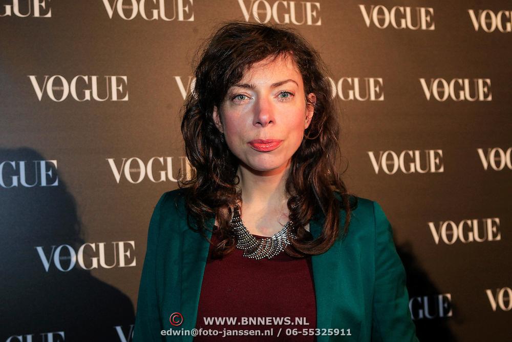 NLD/Amsterdam/20130314 - 1 jarig bestaan magazine Voque Nederland , Hanna Bervoets