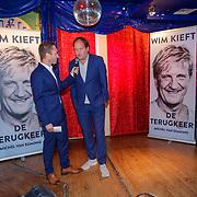 NLD/Amsterdam/20181030 - Boekpresentatie Wim Kieft - De Terugkeer, schrijver Michel van den Berg