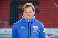 German Soccer Bundesliga 2015/16 - Photocall of FC Ingolstadt 04 on 09 July 2015 in Ingolstadt, Germany: Coach Ralph Hasenhuettl