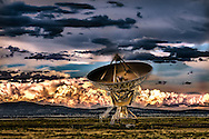 Having Some Fun With The New Mexico Radio Astronomy, Radio Telescope, USA