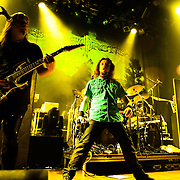 """Finland's power metal band Sonata Arctica performs at the House of Blues on Sunset Strip in Los Angeles, California USA on September 18 2009. The band is touring in support of their album """"The Days Of Grays."""""""