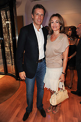 DARREN & SAM SMITH at a party to celebrate the B.zero 1 design by Anish Kapoor held at Bulgari, 168 New Bond Street, London n 2nd June 2010.
