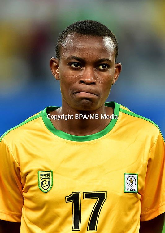 Fifa Woman's Tournament - Olympic Games Rio 2016 -  <br /> Zimbabwe National Team - <br /> Kudakwashe BASOPO