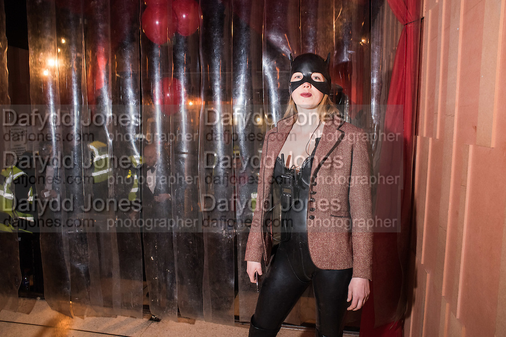 SUZETTE FIELD, LOST HEARTS , A VALENTINE'S MASQUERADE BALL 2016 at the Coronet Theatre,  Elephant and Castle, London. 12th February 2016