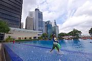 Singapore. Fullerton Bay Hotel.