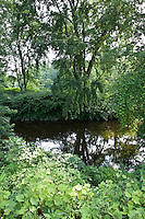 Deerfield River is a tributary of the Connecticut River, Deerfield, MA