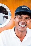 Captain Ekachai Pongpaew on the Meta IV, Mergui Archipelago.