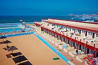 Maroc, Casablanca, la Corniche, Miami beach// Morocco, Casablanca, the Corniche, Miami beach