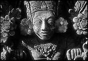 Indonesia.  Detail from a temple on Bali.