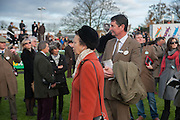 PRINCESS ANNE; TIM LAURENCE, Hennessy Gold Cup, The Racecourse Newbury. 30 November 2013.