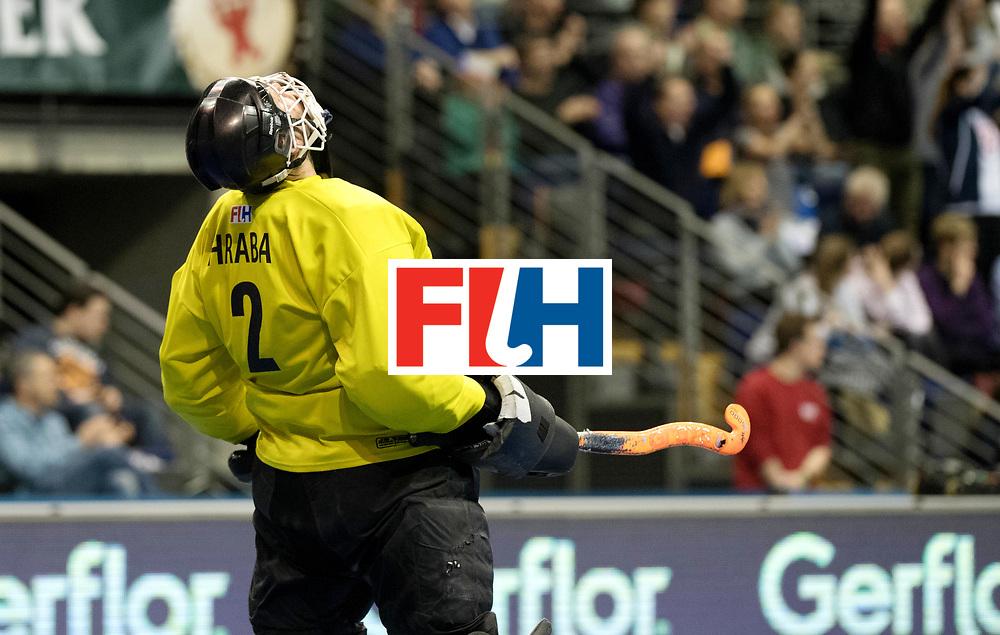 BERLIN - Indoor Hockey World Cup<br /> Quarterfinal 1: Iran - Czech Republic<br /> foto: HRABA Pavel.<br /> WORLDSPORTPICS COPYRIGHT FRANK UIJLENBROEK