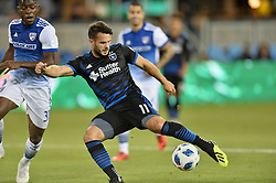 August 29, 2018 - San Jose, California, United States - San Jose, CA - Wednesday August 29, 2018: Vako during a Major League Soccer (MLS) match between the San Jose Earthquakes and FC Dallas at Avaya Stadium. (Credit Image: © John Todd/ISIPhotos via ZUMA Wire)