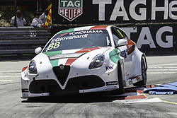 June 23, 2018 - Vila Real, Vila Real, Portugal - Fabrizio Giovanardi from Italy in Alfa Romeo Giulietta TCR of Team Mulsanne in action during the Race 1 of FIA WTCR 2018 World Touring Car Cup Race of Portugal, Vila Real, June 23, 2018. (Credit Image: © Dpi/NurPhoto via ZUMA Press)