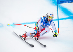 19.12.2018, Saslong, St. Christina, ITA, FIS Weltcup Ski Alpin, SuperG, Damen, im Bild Joana Haehlen (SUI) // Joana Haehlen of Switzerland in action during her run in the ladie's Super-G of FIS ski alpine world cup at the Saslong in St. Christina, Italy on 2018/12/19. EXPA Pictures © 2018, PhotoCredit: EXPA/ Johann Groder