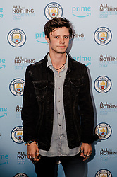 Cel Spellman attends the World Premiere of Prime Video series. All or Nothing: Manchester City, at The Printworks in Manchester ahead of its release on Friday.