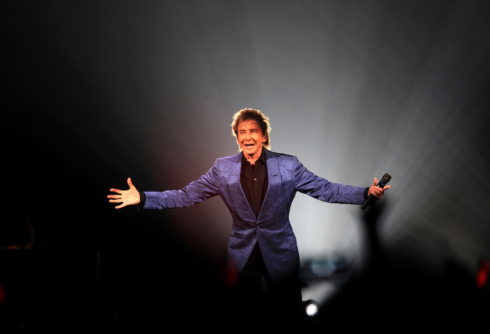 Barry Manilow performs at Bankers Life Fieldhouse Friday August 3, 2012. .Chris Bergin/ For The Star
