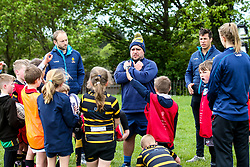 Worcester Warriors host a Easter Holiday Camp, with a visit from Dean Hammond and Chris Pennell - Mandatory by-line: Robbie Stephenson/JMP - 25/04/2019 - RUGBY - Old Swinford Hospital School - Stourbridge, England - Worcester Warriors Easter Holiday Camp