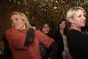 BAY GARNETT;DAISY LOWE;  FIONA GOLFAR, Fashion and Gardens, The Garden Museum, Lambeth Palace Rd. SE!. 6 February 2014.