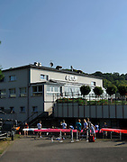 Essen, GERMANY, General views, GV's, Boating Area, German U17 and U23, Regatta, Essen Baldeneysee.   Friday  25/06/2010  [Mandatory Credit Peter Spurrier/ Intersport Images], ETUF.  Boathouse.