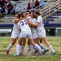 04-18-16 Berryville Girls Soccer vs. Green Forest