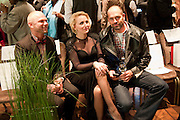 lulu; zoe pollard; philip palmer, Stephane St. Jaymes Spring Summer 2011 fashion show.<br /> The Westbury Mayfair, Bond Street, London,DO NOT ARCHIVE-© Copyright Photograph by Dafydd Jones. 248 Clapham Rd. London SW9 0PZ. Tel 0207 820 0771. www.dafjones.com.