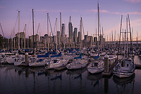 South Beach Harbor & SF Skyline