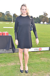 Chef SOPHIE MICHELL at the Chovgan Twilight Polo Gala in association with the PNN Group held at Ham Polo Club, Petersham Close, Richmond, Surrey on 10th September 2014.