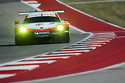 May 4-6, 2017: IMSA Sportscar Showdown at Circuit of the Americas. 911 Porsche GT Team, Porsche 911 RSR, Patrick Pilet, Dirk Werner