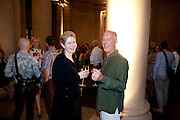 CATHY DE MONCHEAUX; BEN LANGLANDS, Tate Summer Party. Celebrating the opening of the  Fiona Banner. Harrier and Jaguar. Tate Britain. Annual Duveens Commission 29 June 2010. -DO NOT ARCHIVE-© Copyright Photograph by Dafydd Jones. 248 Clapham Rd. London SW9 0PZ. Tel 0207 820 0771. www.dafjones.com.