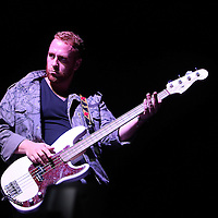 Big Red from the band Radical Something, performs during the Verge Campus Spring Tour concert at the CFE Arena on the University of Central Florida campus, Tuesday, April 8, 2014, in Orlando, Florida.  (AP Photo/Alex Menendez)