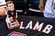 PHOENIX, AZ - APRIL 08:  A detail view of Jake Lamb #22 of the Arizona Diamondbacks' bobble head prior to the MLB game between the Cleveland Indians and Arizona Diamondbacks at Chase Field on April 8, 2017 in Phoenix, Arizona.  (Photo by Jennifer Stewart/Getty Images)